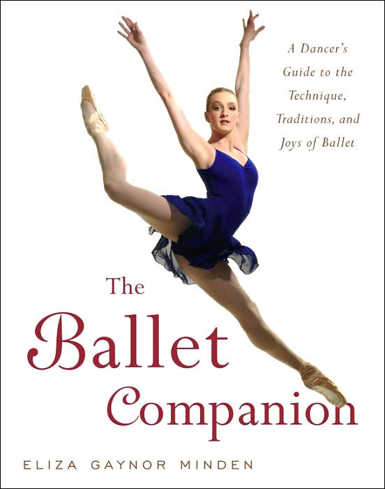 Gillian on the cover of Eliza Gaynor Minden's Ballet Companion, October 2005.