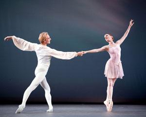 Gillian and David Hallberg in Ballo Della Regina