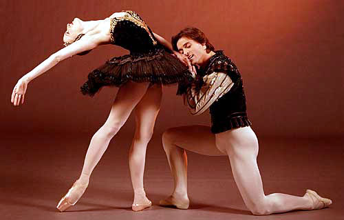 Gillian and Angel Corella in Swan Lake.