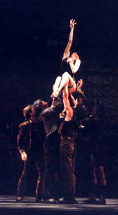 Gillian performing in Paul Taylor's Black Tuesday.