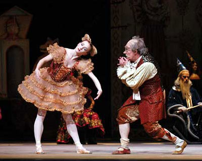 Gillian and Kirk Peterson in Coppelia (Photo: Marty Sohl)