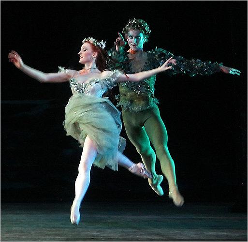 Gillian as Titania in The Dream