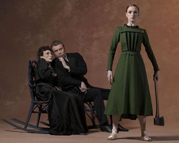 Gillian as Lizzie Borden in Fall River Legend