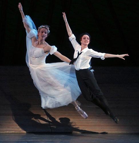 Gillian in Bright Stream, with David Hallberg, 2012