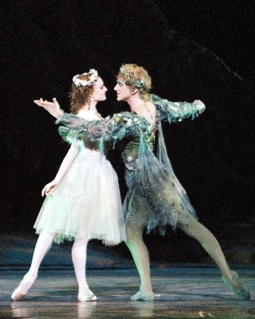 Gillian in the The Dream, with David Hallberg, 2012