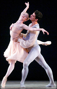 Gillian performing with Marcelo Gomes (courtesy of the Washington Post.)