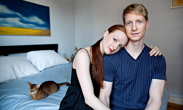 Gillian and Ethan in New York, courtesy of the New York Times, 2011.