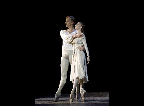 Gillian and David Hallberg in Anthony Tudors Romeo and Juliet