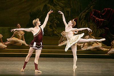 Gillian and Maxim Beloserkovsky in Sylvia, 2005.