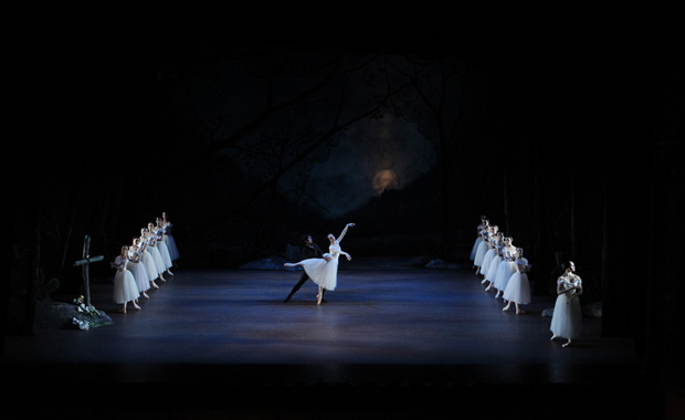 Gillian in RZNBs Giselle with Qi Huan, 2012.