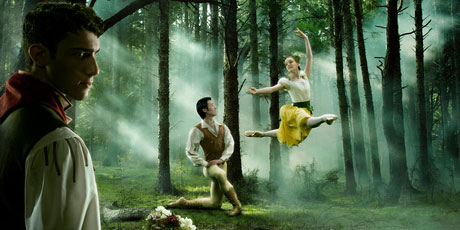 Gillian in RZNBs Giselle with Qi Huan, 2012