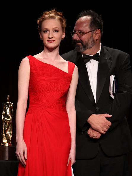 Gillian at the Princess Grace Awards Ceremony with Brian Kulick (Photo by Matthew Peyton/Getty Images North America)