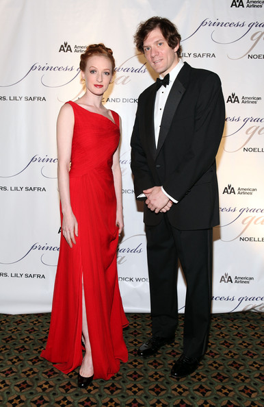 Gillian at the Princess Grace Awards Ceremony with Adam Rapp (Photo by Matthew Peyton/Getty Images North America)