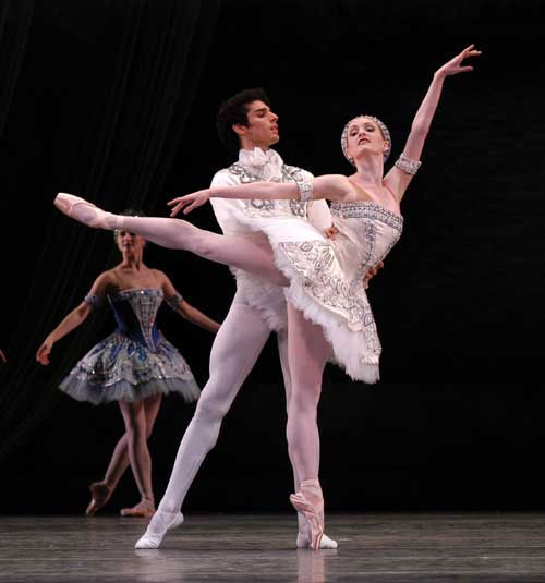 Gillian and Carlos Molina in Ballet Imperial