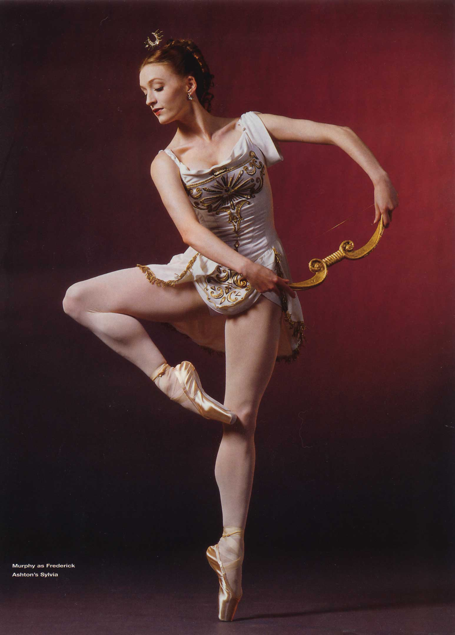 Gillian in Pointe Magazine, June 2005.