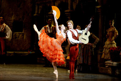 Gillian and Ethan in Don Quixote
