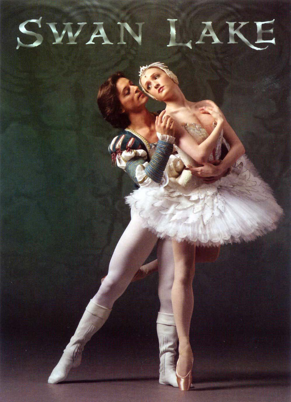 Gillian in Swan Lake, June 2005.