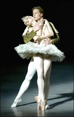 Gillian and Ethan dance the White Swan pas de deux